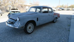 1955 Studebaker COMMANDER Dry Project No Engine $5.2k For Sale