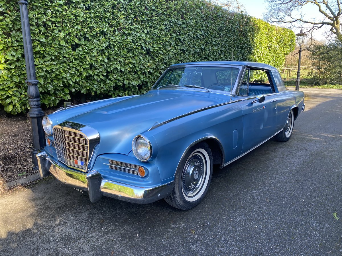 1963 Studebaker Hawk Gran Turismo - Original car - 289ci V8 Coupe For Sale (picture 1 of 6)