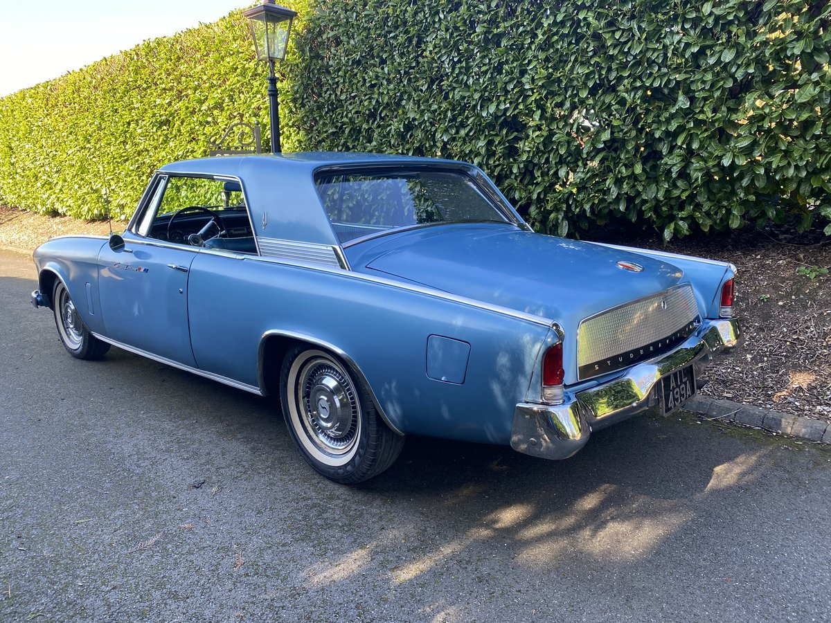 1963 Studebaker Hawk Gran Turismo - Original car - 289ci V8 Coupe For Sale (picture 2 of 6)