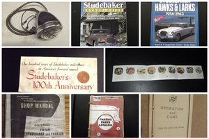 0000 STUDEBAKER & PACKARD  MEMORABILIA FOR SALE.  LIST 1