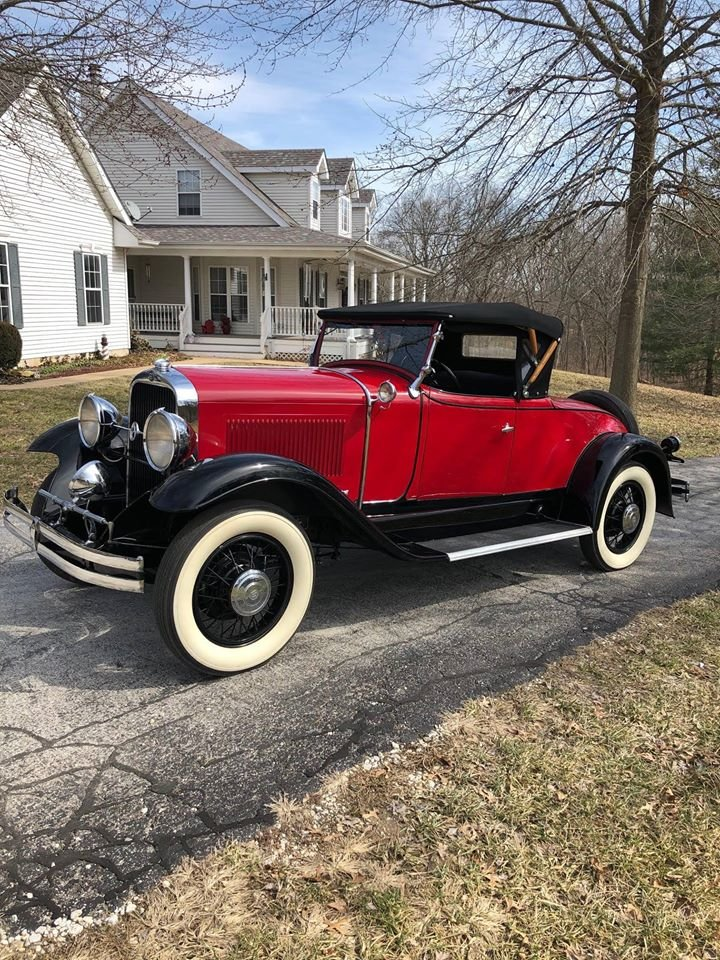 1930 Studebaker Commander 8 Regal Rumble Seat Roadster For Sale (picture 1 of 6)