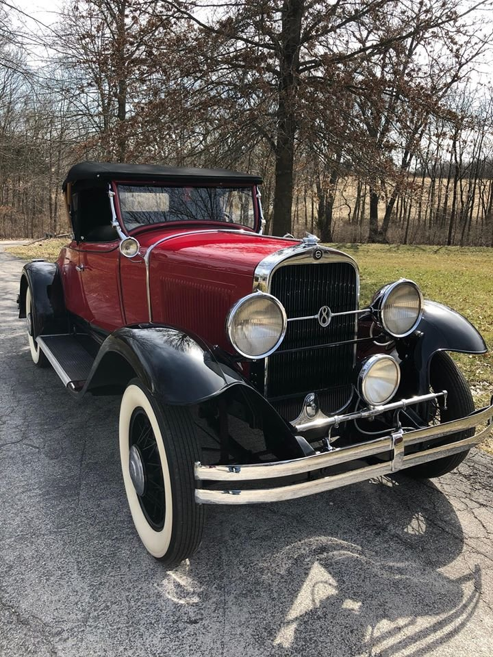 1930 Studebaker Commander 8 Regal Rumble Seat Roadster For Sale (picture 2 of 6)