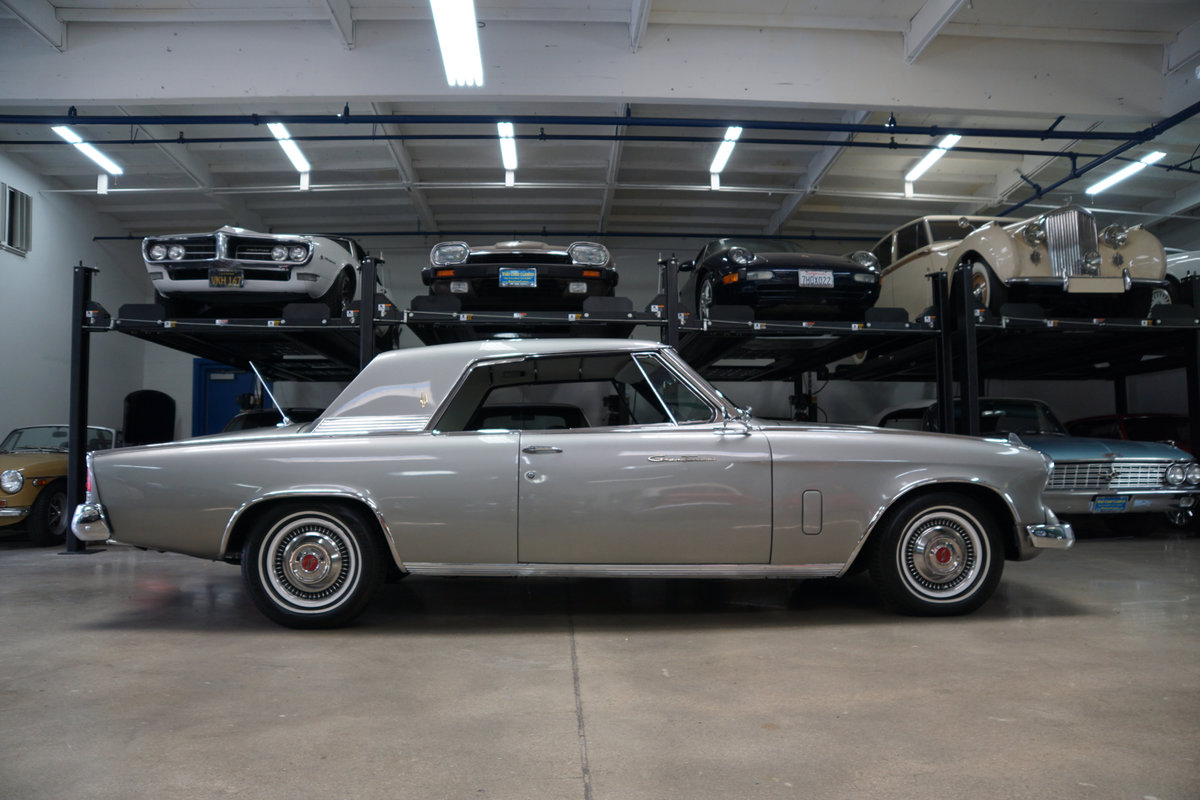 1962 Studebaker Gran Turismo 4 spd V8 Hawk with AC For Sale (picture 3 of 6)