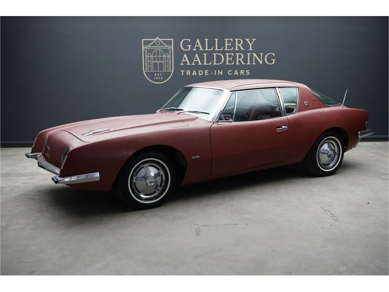 1963 Studebaker Avanti Barnfind, supercharged For Sale (picture 1 of 6)
