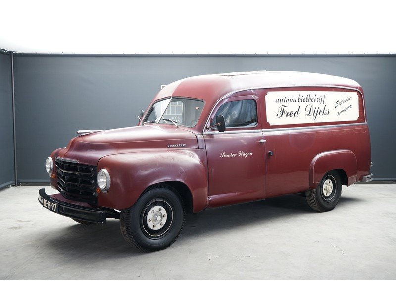 1950 Studebaker R10 Panel Van For Sale (picture 1 of 6)