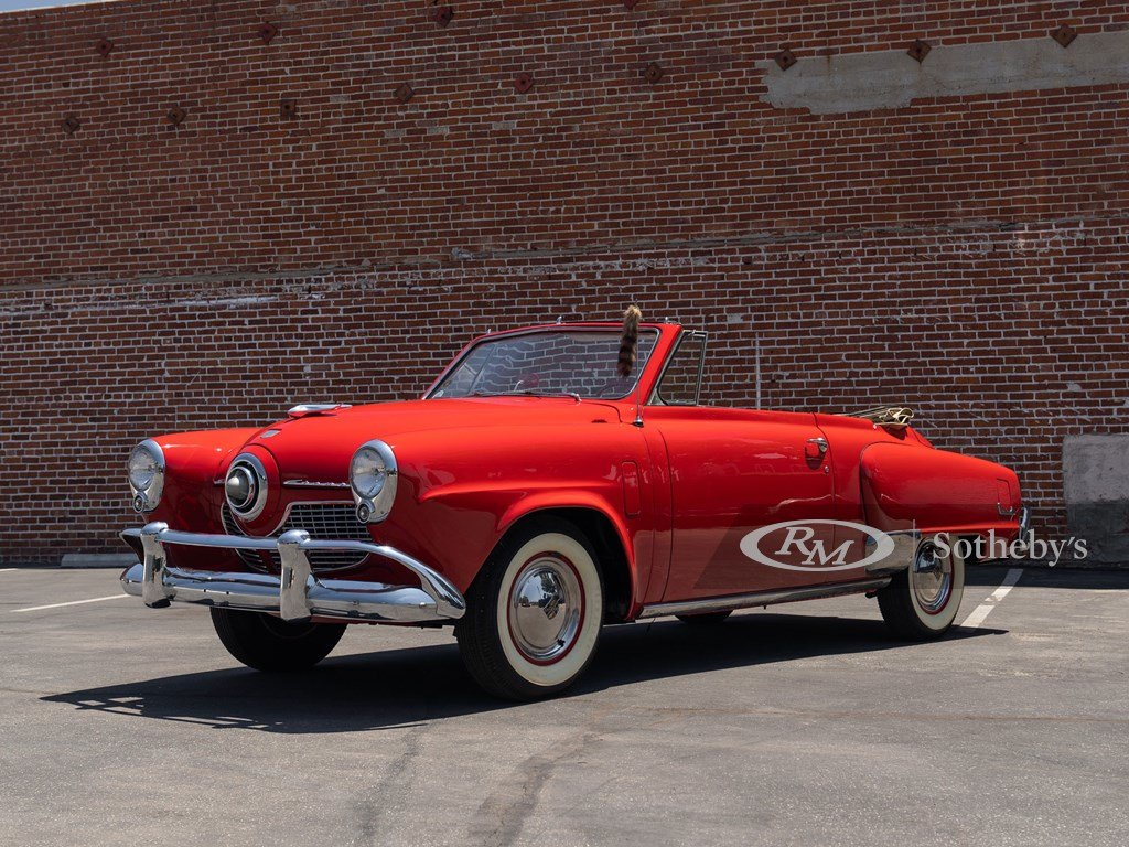 1951 Studebaker Champion Regal Convertible  For Sale by Auction (picture 1 of 6)