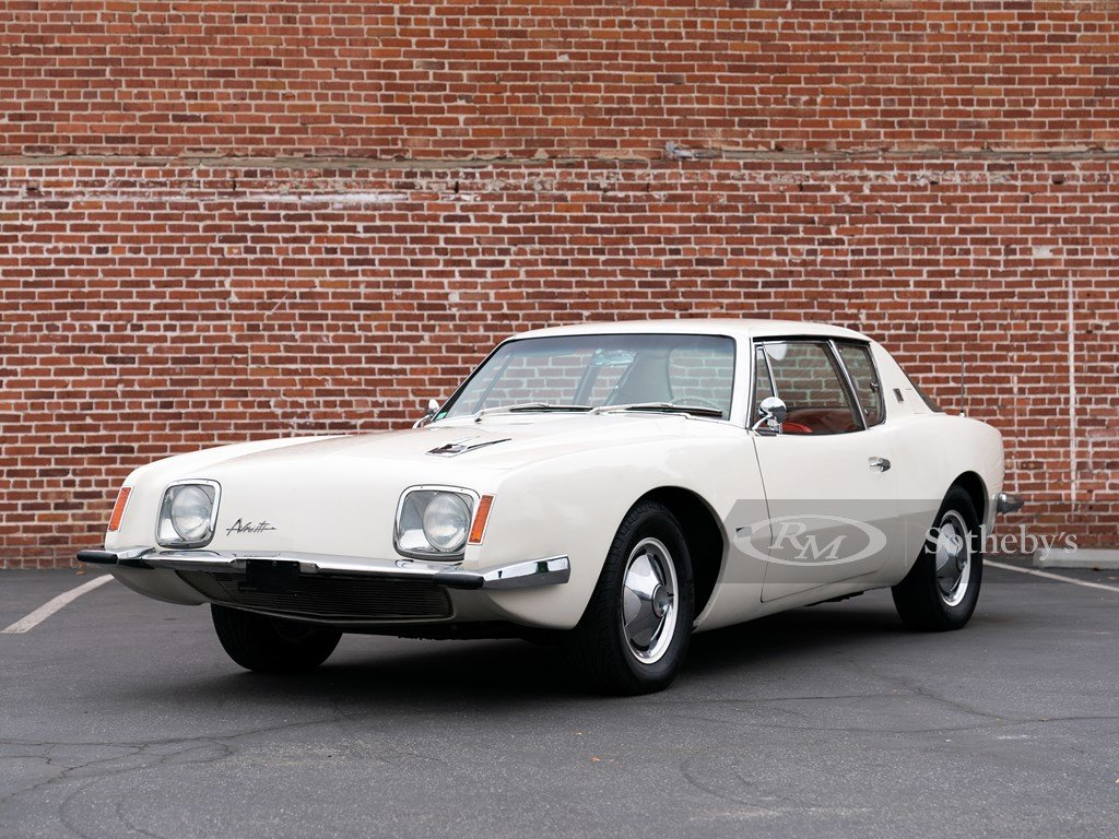 1963 Studebaker Avanti R2 Supercharged  For Sale by Auction (picture 1 of 6)