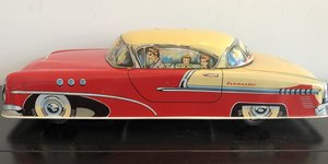Vintage Tin Friction Studebaker
