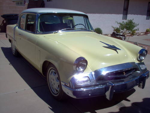 1955 Studebaker Commander 2DR For Sale (picture 1 of 6)