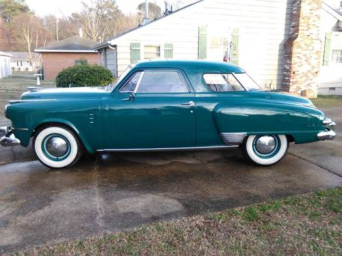 1949 Studebaker Commander Starlight 2DR For Sale (picture 1 of 6)