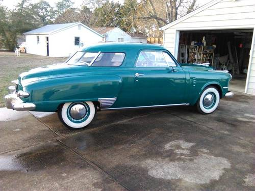 1949 Studebaker Commander Starlight 2DR For Sale (picture 2 of 6)