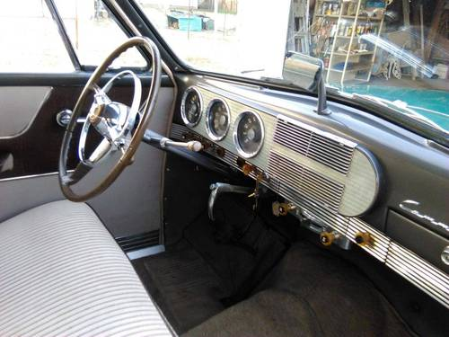 1949 Studebaker Commander Starlight 2DR For Sale (picture 5 of 6)