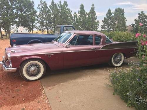 1957 Studebaker Silver Hawk For Sale (picture 2 of 6)
