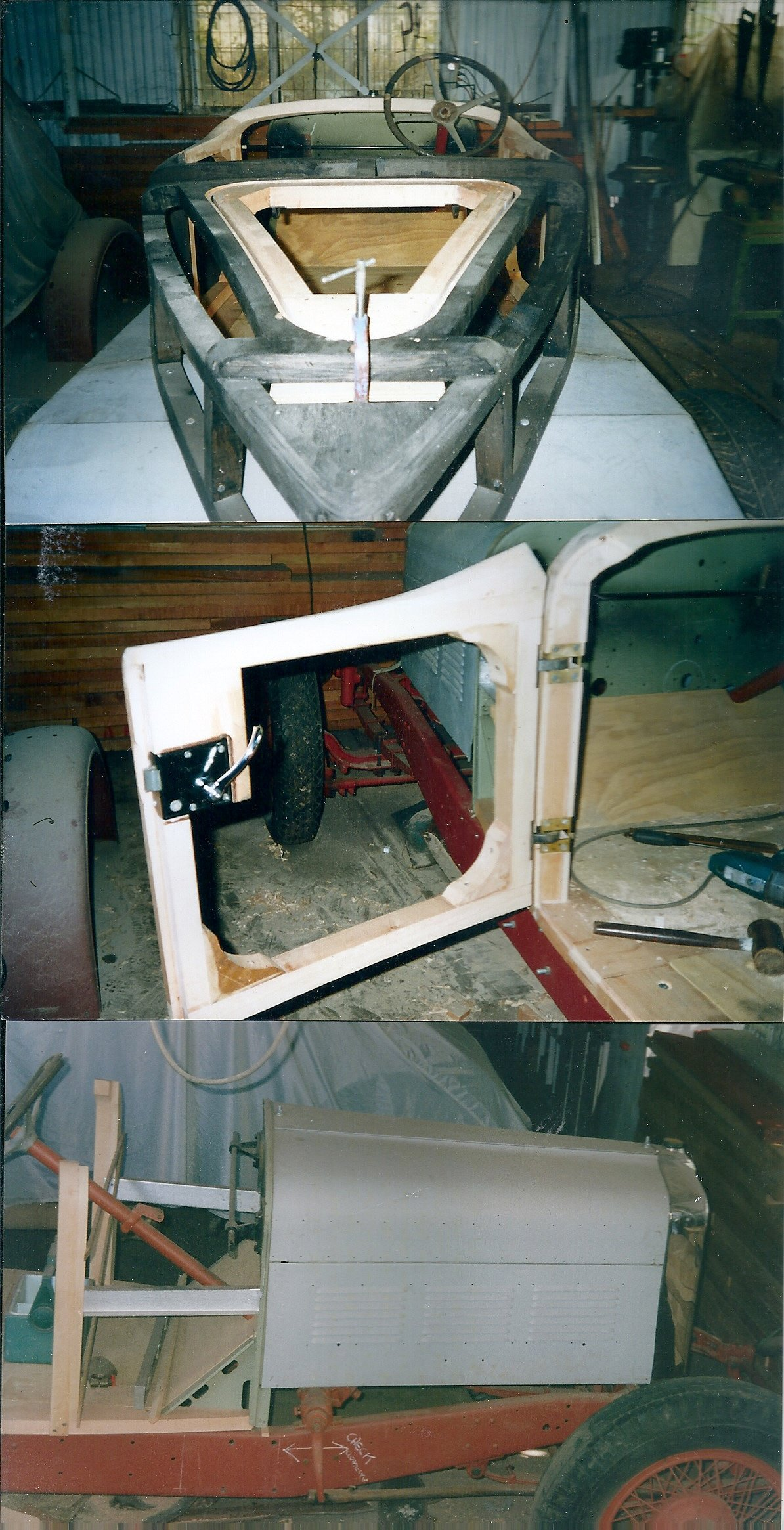 1928 Stutz BB Blackhawk unfinished project with 2 X Eng For Sale (picture 6 of 6)