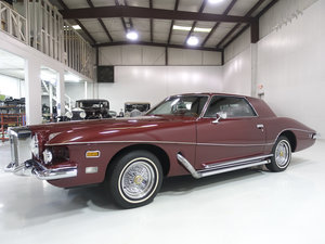 Wine Red Metallic 1975 Stutz Blackhawk Series VI