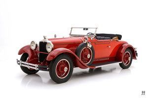 1928 Stutz Series BB Two Passenger Speedster