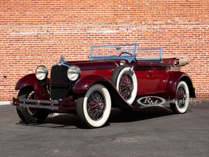 1928 Stutz Model BB Four-Passenger Dual-Cowl Speedster by Ro