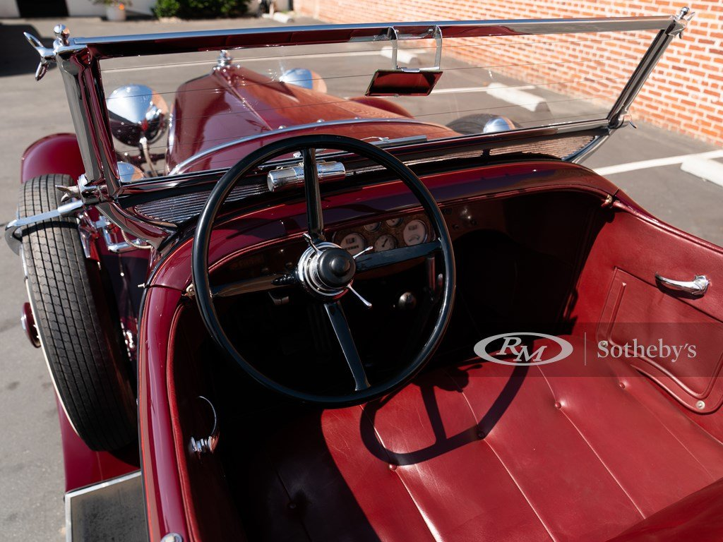1928 Stutz Model BB Four-Passenger Dual-Cowl Speedster by Ro For Sale by Auction (picture 4 of 6)