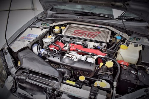 2003 Subaru Impreza 2.0 WRX STI Widebody. 71,000 Miles For Sale (picture 4 of 6)