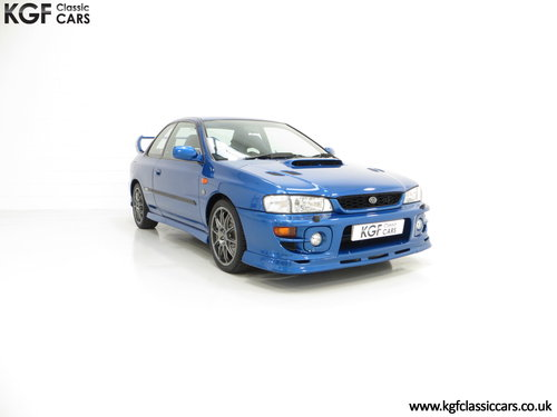 2000 A Highly Collectable Subaru Impreza P1 Only 4,786 Miles SOLD (picture 1 of 6)