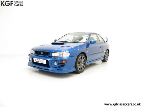 2000 A Highly Collectable Subaru Impreza P1 Only 4,786 Miles SOLD (picture 2 of 6)