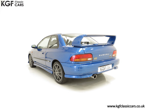 2000 A Highly Collectable Subaru Impreza P1 Only 4,786 Miles SOLD (picture 4 of 6)