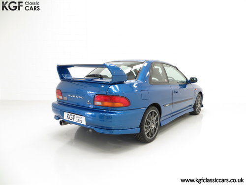 2000 A Highly Collectable Subaru Impreza P1 Only 4,786 Miles SOLD (picture 5 of 6)