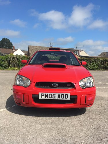 SUBARU IMPREZA 2.0 TURBO WRX STI SPEC C 2005 For Sale (picture 1 of 6)