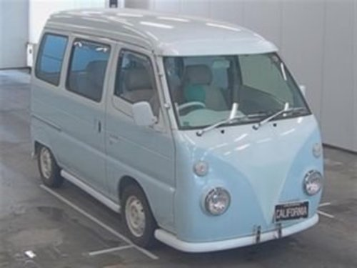 1997 SUBARU SAMBAR SUZUKI EVERY 660CC MINI SAMBAR RETRO CAMPER  For Sale (picture 1 of 3)