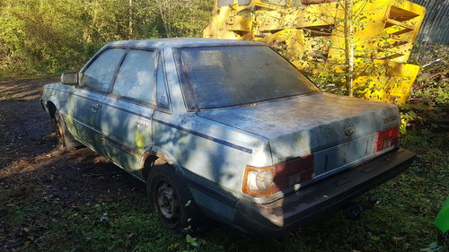 1984 Very very rare !!! 4wd automatic subaru for restor For Sale (picture 6 of 6)