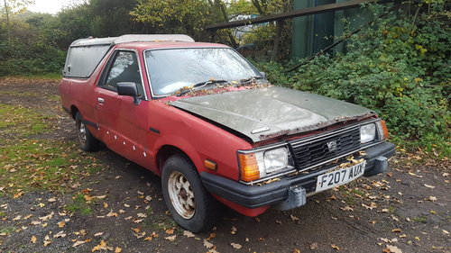 1989 Restoration project subaru pick up For Sale (picture 2 of 6)