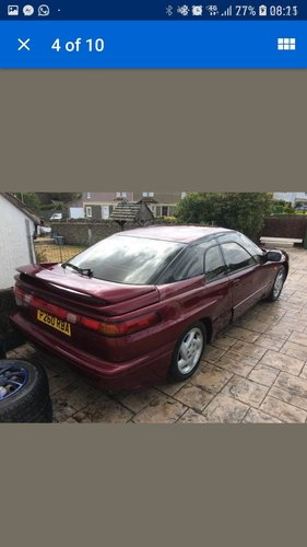 1993 2X subaru Svx for restoration 2 cars !!! For Sale (picture 4 of 4)