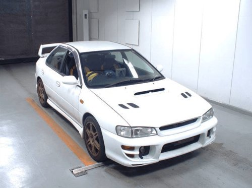 1998 SOLD - SUBARU IMPREZA V4 STI – ON ITS WAY FROM JAPAN  SOLD (picture 1 of 3)