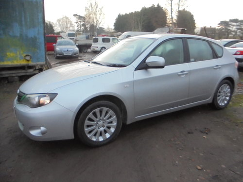 4X4 SUBARU SALOON NEWER SHAPE 2008 REG 57 PLATE JUST 72,000  For Sale (picture 2 of 6)