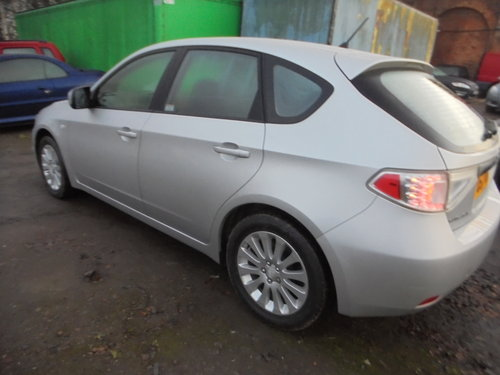 4X4 SUBARU SALOON NEWER SHAPE 2008 REG 57 PLATE JUST 72,000  For Sale (picture 3 of 6)