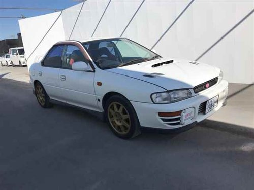 1997 IMPREZA STI VERSION 3 - GRADE 4 CAR ON ITS WAY FROM JAPAN  For Sale (picture 1 of 3)