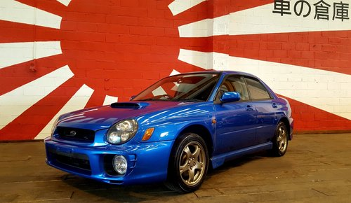 2002 SUBARU IMPREZA WRX AWD AUTOMATIC * LOW MILEAGE JDM BUG EYE For Sale (picture 1 of 6)