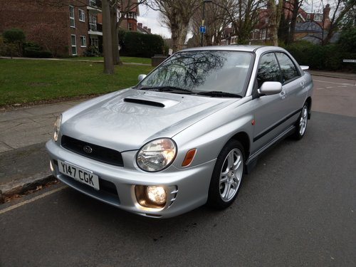 2001 EXCELLENT EXAMPLE OF A UK SUPPLIED SUBARU WRX  FSH SOLD (picture 1 of 6)
