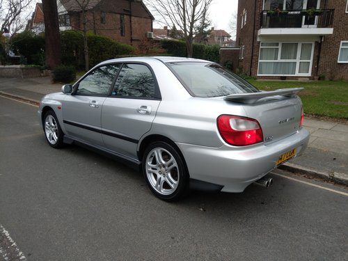 2001 EXCELLENT EXAMPLE OF A UK SUPPLIED SUBARU WRX  FSH SOLD (picture 2 of 6)