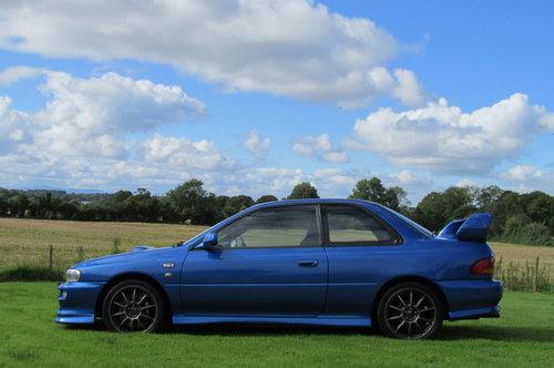 2000 Subaru Impreza P1, Engine rebuild, 23 services. For Sale (picture 2 of 6)