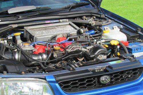 2000 Subaru Impreza P1, Engine rebuild, 23 services. For Sale (picture 6 of 6)