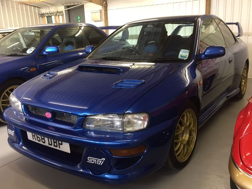 1998 Subaru Impreza 22B STI, 55K Miles, Concours For Sale (picture 1 of 4)