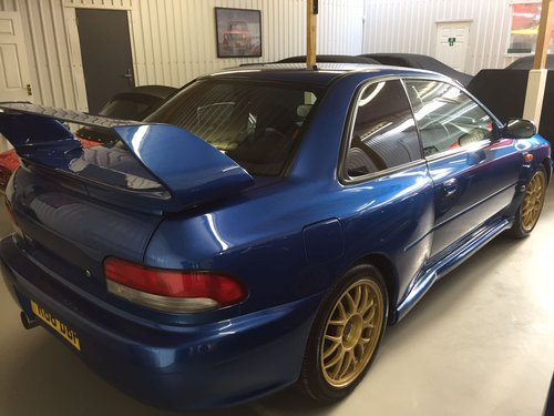 1998 Subaru Impreza 22B STI, 55K Miles, Concours For Sale (picture 3 of 4)