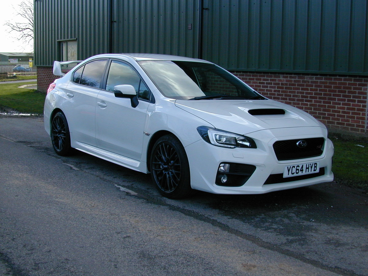 2014 SUBARU IMPREZA WRX 2.5 STI Type UK - UK CAR - NOMINAL MILES! For Sale (picture 1 of 6)