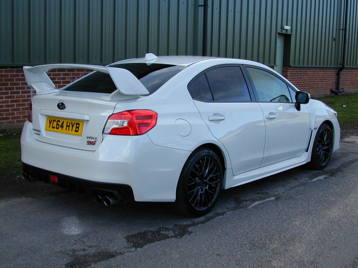 2014 SUBARU IMPREZA WRX 2.5 STI Type UK - UK CAR - NOMINAL MILES! For Sale (picture 3 of 6)