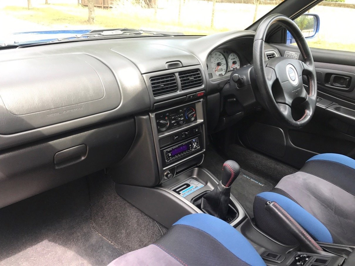 2000 Subaru Impreza P1 For Sale (picture 5 of 6)