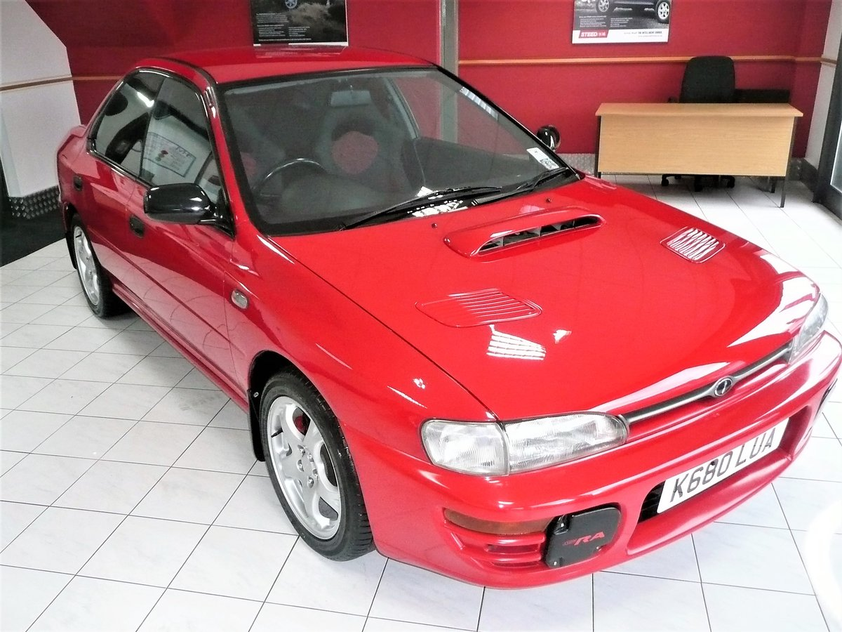 1993 IMPREZA WRX TYPE-RA For Sale (picture 1 of 6)