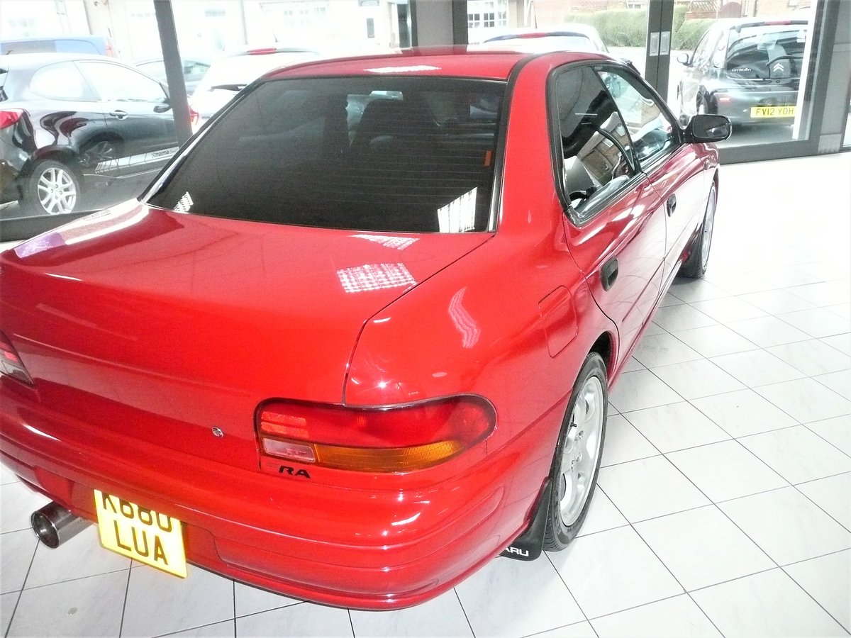 1993 IMPREZA WRX TYPE-RA For Sale (picture 3 of 6)