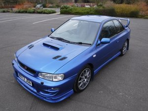 **MARCH AUCTION**2000 Subaru Impreza P1 Prodrive Press Car SOLD by Auction