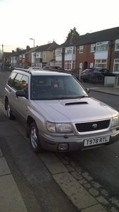 1999 SUBARU FORESTER S TURBO AWD AUTO